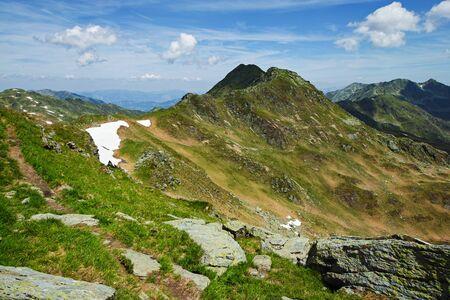 Mountains at Koenigsleiten, Austria Falschriedel Ochsenkopf