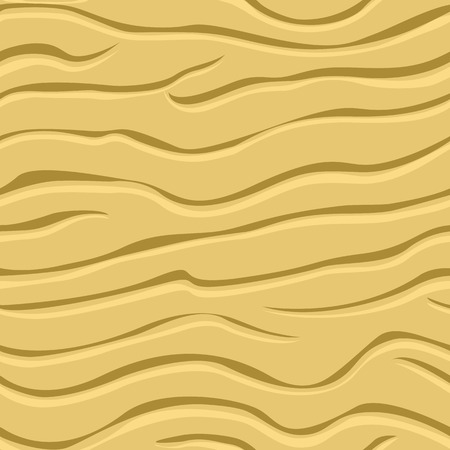 Seamless texture of wavy patterns in the sand