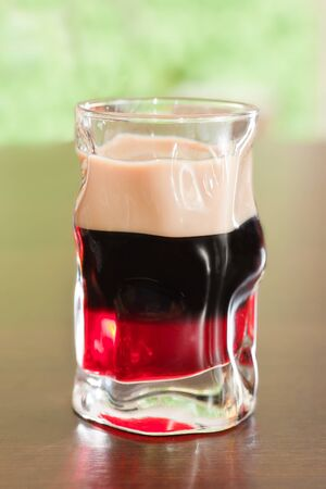 baileys: Close up of cocktail alcoholic