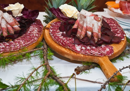 charcuter�a: plato de carne troceada???Italiano