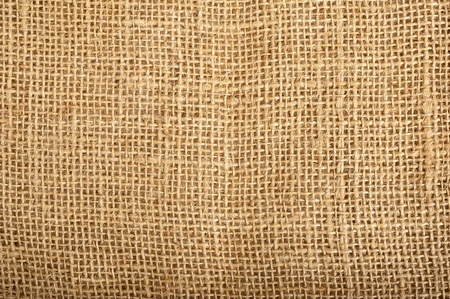 burlap background: Background and texture of jute canvas