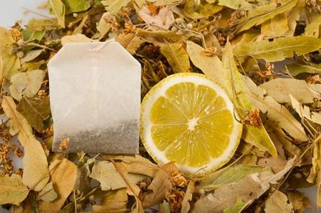 Linden lemon and one bag of chamomile photo
