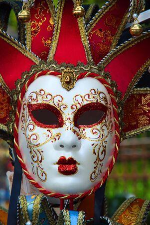 trasgressione: Maschera veneziana Archivio Fotografico