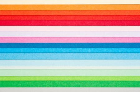 Multicolored  background with colored stripes Stock Photo
