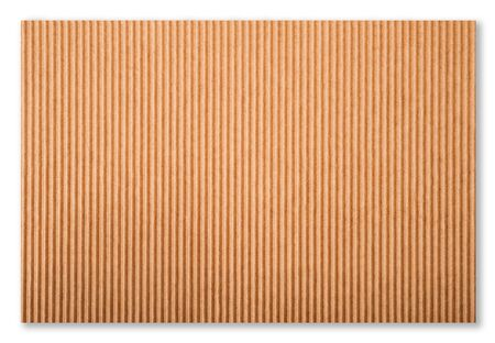 cardboard isolated on white background photo
