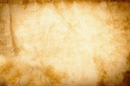 paper background: Old vintage grunge parchment brown