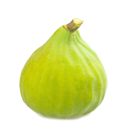 Fig  isolated on white background photo