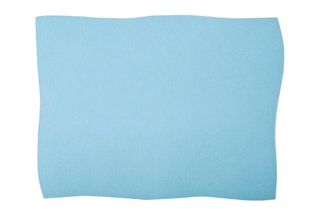paperboard:  blue paperboard isolated on white