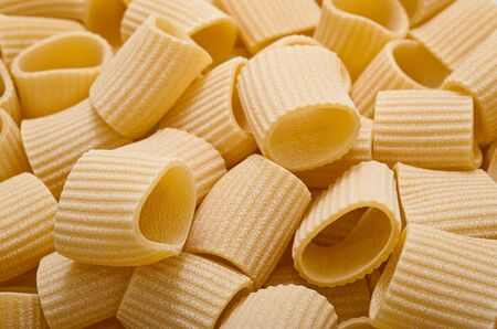 maccheroni: maccheroni group background,pasta texture Stock Photo