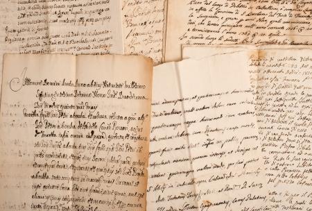manuscripts of the 1700 1800 century photo