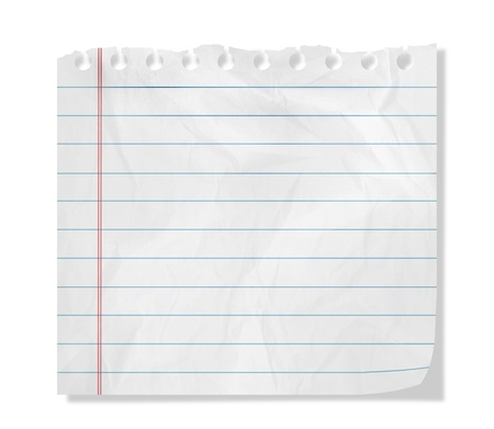 chit: Piece of paper with empty space