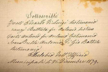 manuscript of the 1700 1800 century photo