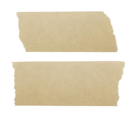 tear duct: masking tape isoletd on white background Stock Photo