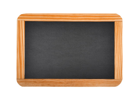 blackboard isolated on white background