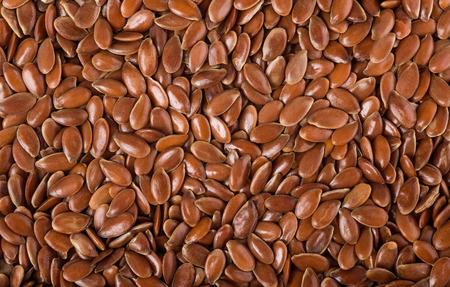linum: Flax seeds (Linum usitatissimum) background