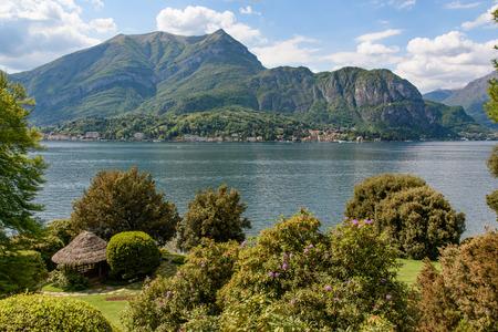 view of Cadenabbia - beautiful town of  Como lake