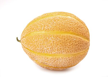 Frische Melone lokalisiert auf weißem Hintergrund