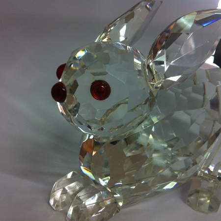 nose: Beauty crystal rabbit