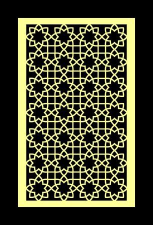 islamic pattern: arabesque pattern