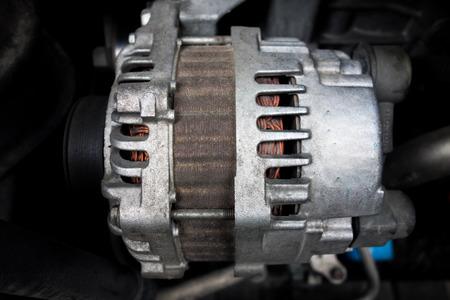 electromechanical: Starter motor Stock Photo