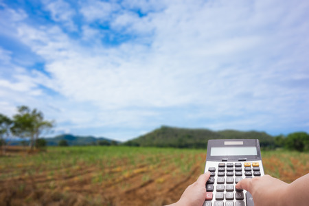 agriculture investment costs concept