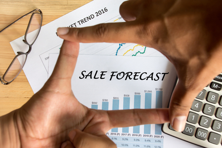 cuadro sinoptico: Financial accounting sales forecast graphs analysis