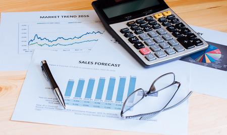 cuadro sinoptico: Financial accounting sales forecast graphs analysis