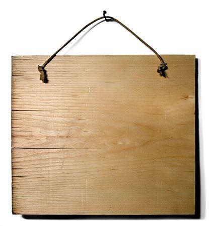 Wood Sign Stock Photo - 3923254