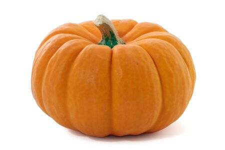 Pumpkin isolated on white.