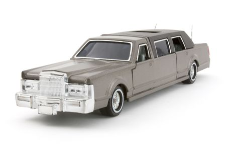 Diecast Limousine isolated. Stock Photo - 3923259