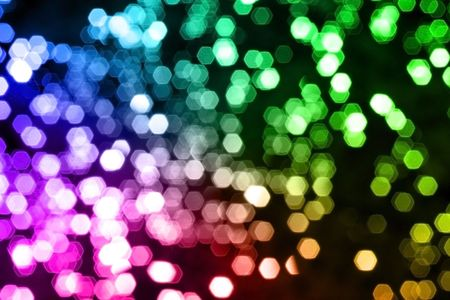 night spot: Blurred lights background Stock Photo