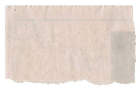 신문 흰색 배경에 고립입니다. 스톡 콘텐츠 - 4634229