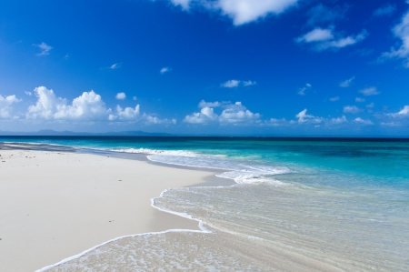 anguilla: Perfect Caribbean Beach Stock Photo