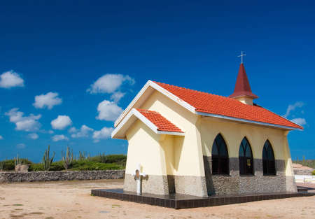 aruba: Church in Aruba Stock Photo
