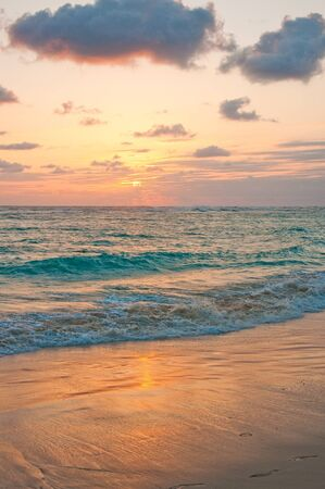 Sunrise on Punta Cana photo