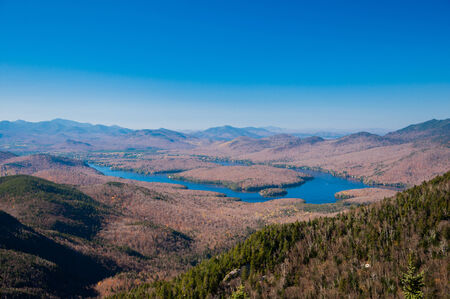 placid: Lake Placid, NY Stock Photo