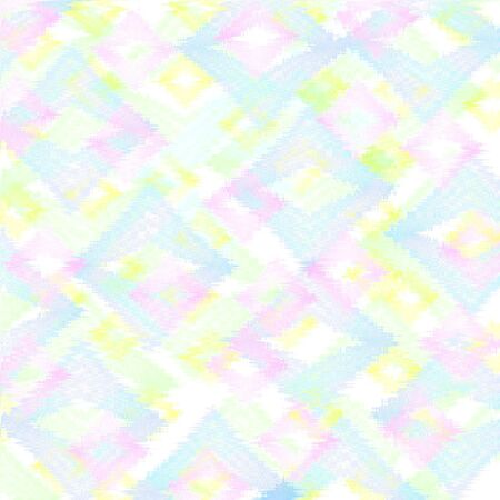 白い背景の上のパステル調のパターン ギフトラップ