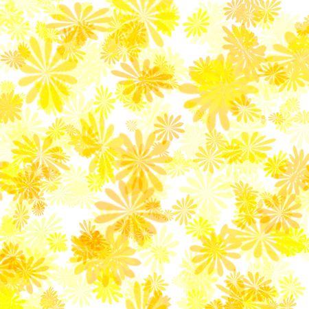 résumé de couleurs jaune motif floral Girt wrap