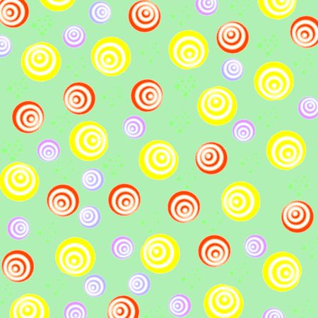 colorful abstract  birthday balloons  pattern girt wrap Stock Photo - 791768