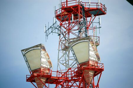red tower early warning system for severe weather