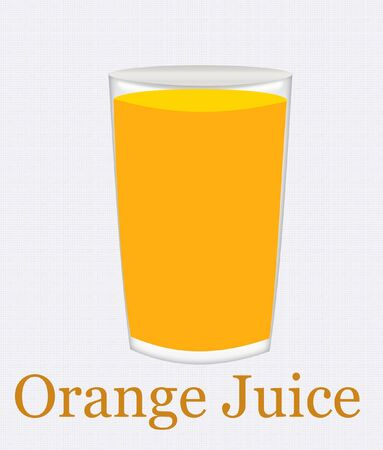 quench: a glass of bright yellow orange juice abstract