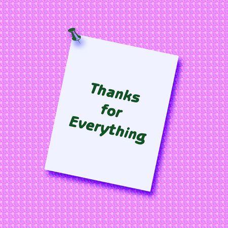 엄지 손가락으로 질감이있는 배경에 게시 된 메모를 보내 주셔서 감사합니다. 스톡 콘텐츠