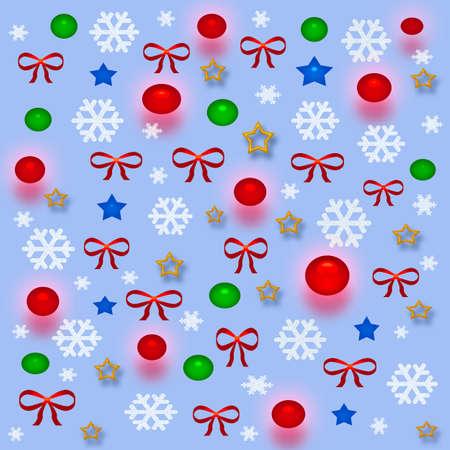 クリスマス 3 d ギフトバッグ各種装飾品や赤の弓