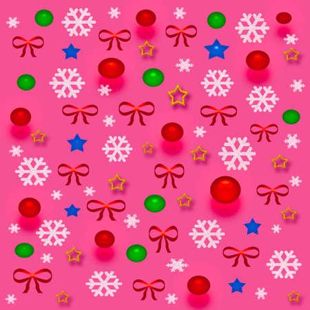 クリスマス 3 d ギフトバッグ盛り合わせ装飾と赤の弓