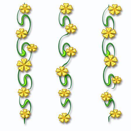 ブドウ ギフトバッグにカラフルな 3 d の花が散乱してください。