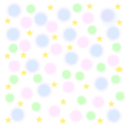 pastel balloons and stars on  mottled  background  Stock Photo