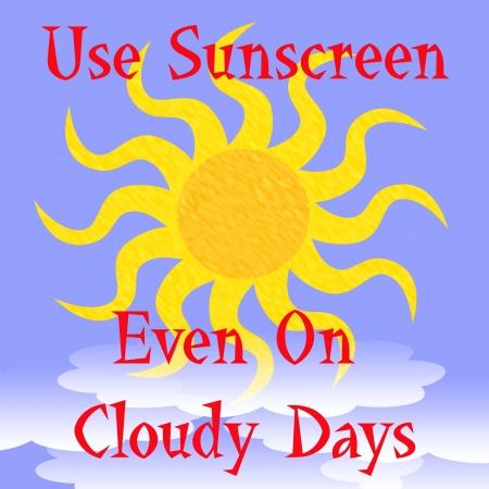 흰 구름 포스터 그림 뒤에 밝은 황금 태양 스톡 콘텐츠