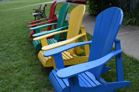 many colour chairs