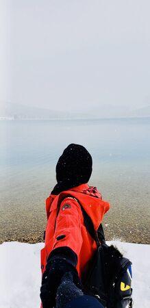 covers head wears jacket Stok Fotoğraf