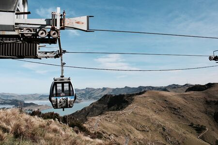 gray cable car